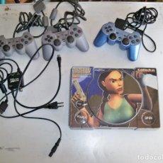 Videojuegos y Consolas: SONY PLAYSTATION TOMB RAIDER IV THE LAST REVELATION , CON TRES MANDOS. Lote 255024055