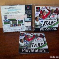 Videojuegos y Consolas: THE F.A. PREMIER LEAGUE STARS - PLAYSTATION 1 CON MANUAL DE INSTRUCCIONES. Lote 255951110