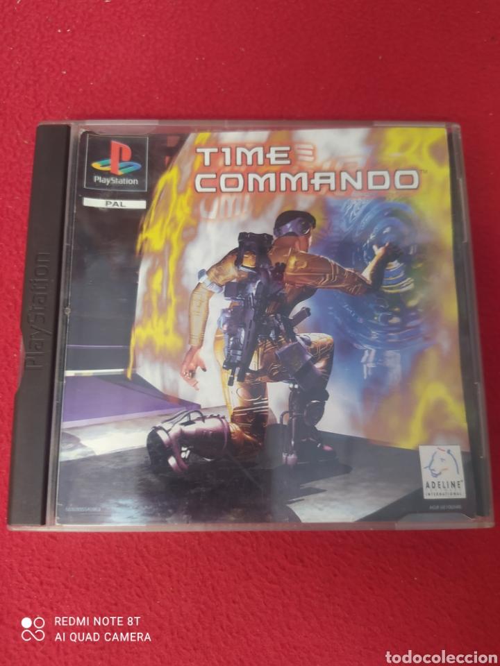 TIME COMMANDO (Juguetes - Videojuegos y Consolas - Sony - PS1)