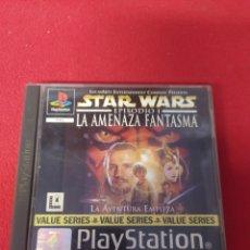 Videojuegos y Consolas: STAR WARS LA AMENAZA FANTASMA. Lote 257669320