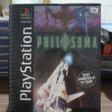 Jeux Vidéo et Consoles: PHILOSOMA EN CAJA GRANDE PARA PLAYSTATION. Lote 258056150