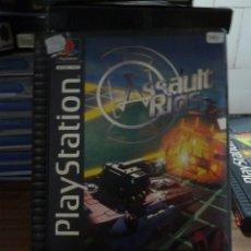 Videojuegos y Consolas: ASSAULT RINGS EN CAJA GRANDE PARA PLAYSTATION. Lote 258061840