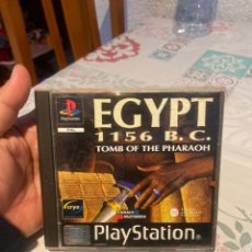 Videojuegos y Consolas: JUEGO - SONY PLAYSTATION - PS1 - EGYPT 1156 B. C. TOMB OF THE PHARAOH. Lote 260406695