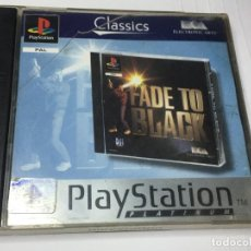 Videojuegos y Consolas: JUEGO FADE TO BLACK PS1 PLAYSTATION 1. Lote 260748825