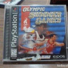 Videojuegos y Consolas: OLYMPIC SUMMER GAMES PARA PLAYSTATION PSX PS1. Lote 261991655