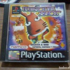 Videojuegos y Consolas: RESCUE SHOT PARA PLAYSTATION PSX PS1. Lote 262004045