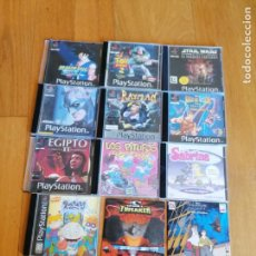 Videojuegos y Consolas: 6 JUEGOS COPIAS PARA PLAY STATION + REGALO 6 VARIOS. Lote 262008115