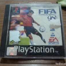 Videojuegos y Consolas: FIFA 98 RUMBO AL MUNDIAL PARA PLAYSTATION PSX PS1. Lote 262329440