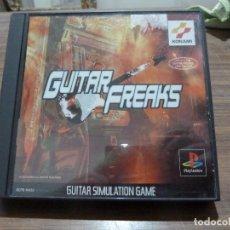 Videojuegos y Consolas: GUITAR FREAKS PARA PLAYSTATION PSX PS1. Lote 262330185