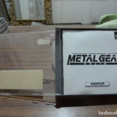 Videojuegos y Consolas: METAL GEAR SOLID TACTICAL ESPIONAGE ACTION PARA PLAYSTATION PSX PS1. Lote 262330265