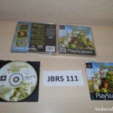 Videojuegos y Consolas: PS1 - SHREK TREASURE HUNT , PAL ESPAÑOL , COMPLETO. Lote 262775930