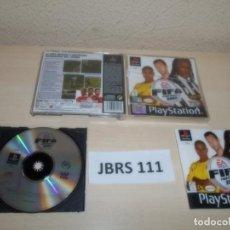 Videojuegos y Consolas: PS1 - FIFA FOOTBALL 2003 PAL ESPAÑOL , COMPLETO. Lote 262782460