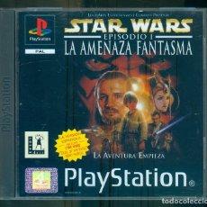 Videojuegos y Consolas: NUMULITE ** STAR WARS EPISODIO I LA AMENAZA FANTASMA PLAYSTATION PAL INCLUYE MANUAL. Lote 262828840