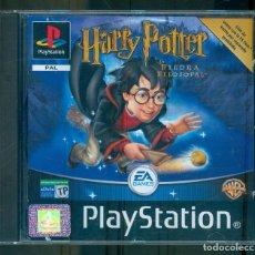 Videojuegos y Consolas: NUMULITE ** B5 HARRY POTTER Y LA PIEDRA FILOSOFAL PLAYSTATION PAL EA GAMES. Lote 262829175