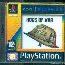 Videojuegos y Consolas: NUMULITE ** B5 HOGS OF WAR PLAYSTATION PAL ZOO CLASSICS BORN TO GRILL INCLUYE MANUAL. Lote 262829555