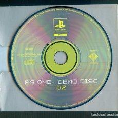 Videojuegos y Consolas: NUMULITE ** B5 PS ONE DEMO DISC 02 PLAYSTATION PAL SONY COMPUTER. Lote 262829790