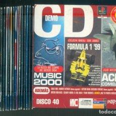 Videojuegos y Consolas: NUMULITE ** B5 CONJUNTO 23 CD DEMO PLAYSTATION MAGAZINE CD. Lote 262830740