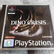 Videojuegos y Consolas: DINO CRISIS PSX PS1 PSONE PLAY STATION PAL ESPAÑA JUEGO SONY CAPCOM. Lote 262902285