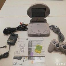 Videojuegos y Consolas: PS1 PLAYSTATION 1 PSONE SLIM CON PANTALLA LCD SCPH-102. Lote 263037590