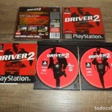 Videojuegos y Consolas: PS1 DRIVER 2 PAL ESP COMPLETO. Lote 263164385