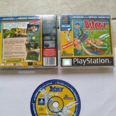 Videogiochi e Consoli: ASTERIX LA BATALLA DE LAS GALIAS PS PSX PSONE PLAYSTATION PS2 PAL-ESPAÑA , ORIGINAL 100%. Lote 266231923