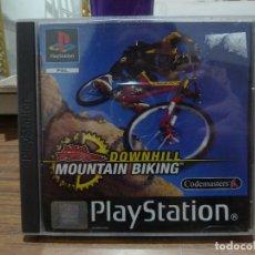 Videojuegos y Consolas: NO FEAR DOWNHILL MOUNTAIN BIKING PARA PLAYSTATION PSX PS1. Lote 266338658