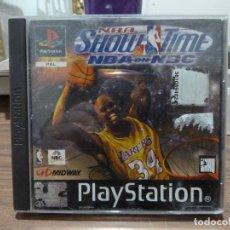 Videojuegos y Consolas: NBA SHOW TIME NBA ON NBC PARA PLAYSTATION PSX PS1. Lote 266338913