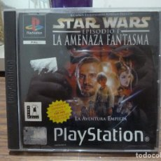 Jeux Vidéo et Consoles: STAR WARS EPISODIO I LA AMENAZA FANTASMA PARA PLAYSTATION PSX PS1. Lote 266814799
