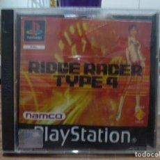 Videojuegos y Consolas: RIDGE RACER TYPE 4 PARA PLAYSTATION PSX PS1. Lote 266972399
