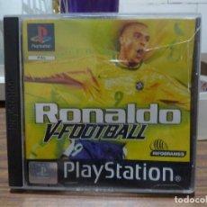 Videojuegos y Consolas: RONALDO V-FOOTBALL PARA PLAYSTATION PSX PS1. Lote 266973514