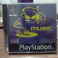 Jeux Vidéo et Consoles: MUSIC PARA PLAYSTATION PSX PS1. Lote 266979759