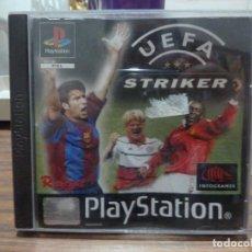 Videojuegos y Consolas: UEFA STRIKER PARA PLAYSTATION PSX PS1. Lote 266980009