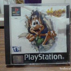 Videojuegos y Consolas: HUGO PARA PLAYSTATION PSX PS1. Lote 267136974
