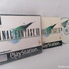 Videojuegos y Consolas: PLAYSTATION 1 FINAL FANTASY VII. Lote 268901324