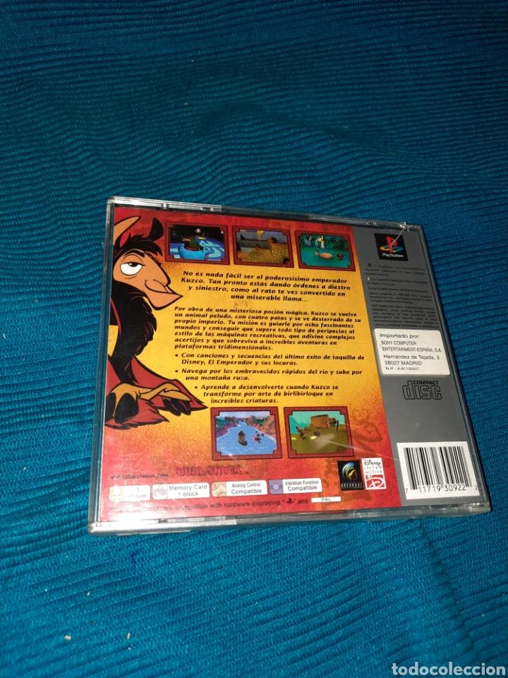 Videojuegos y Consolas: PLAYSTATION DISNEY , EL EMPERADOR Y SUS LOCURAS , AÑO 2000 - Foto 2 - 269372943