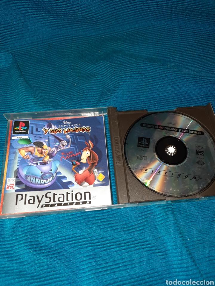Videojuegos y Consolas: PLAYSTATION DISNEY , EL EMPERADOR Y SUS LOCURAS , AÑO 2000 - Foto 3 - 269372943