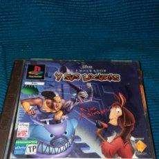 Videojuegos y Consolas: PLAYSTATION DISNEY , EL EMPERADOR Y SUS LOCURAS , AÑO 2000. Lote 269372943