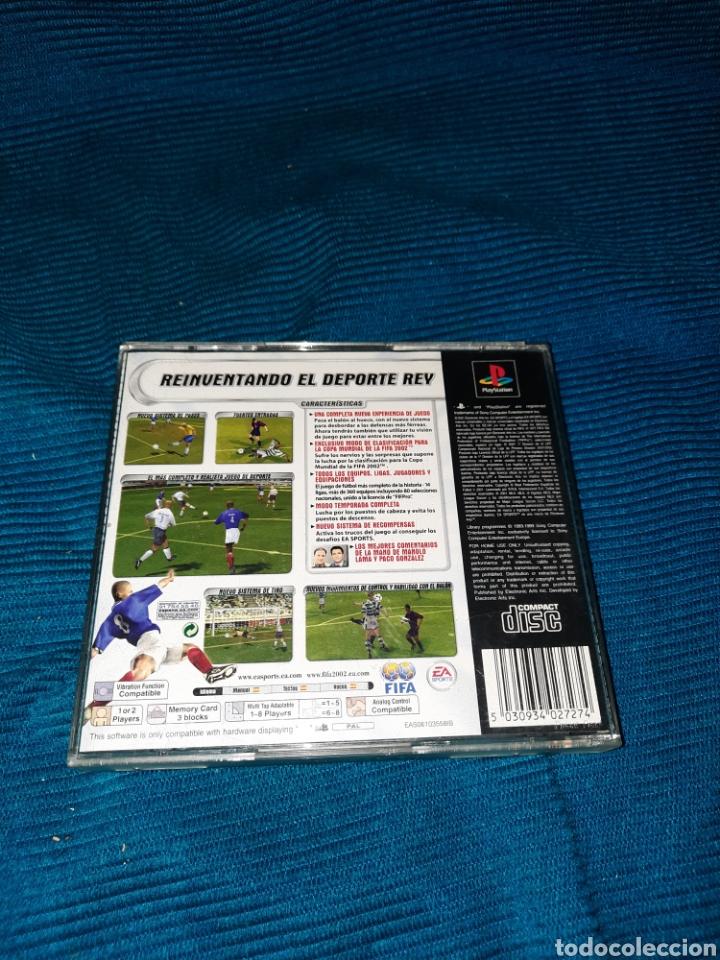 Videojuegos y Consolas: PLAYSTATION FIFA FOOTBALL 2002, EA SPORT FIFA - Foto 2 - 269383753
