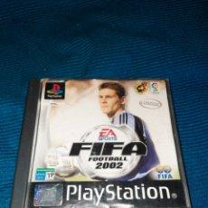 Videojuegos y Consolas: PLAYSTATION FIFA FOOTBALL 2002, EA SPORT FIFA. Lote 269383753