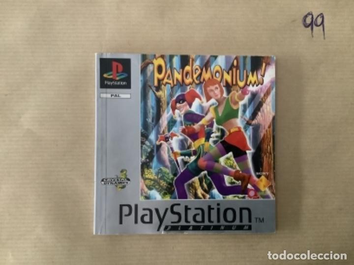 H1 MANUAL PSX PLAY STATION PANDEMÓNIUM (Juguetes - Videojuegos y Consolas - Sony - PS1)
