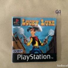 Videojuegos y Consolas: H1 MANUAL PSX PLAY LUCKY LUKE. Lote 269447118