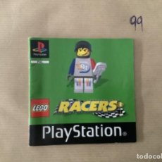 Videojuegos y Consolas: H1 MANUAL PSX PLAY STATION LEGO RACERS. Lote 269447353