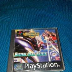 Videojuegos y Consolas: PLAYSTATION DIGIMON, DIGITAL CARD BATTLES, BANDAI. Lote 269447648