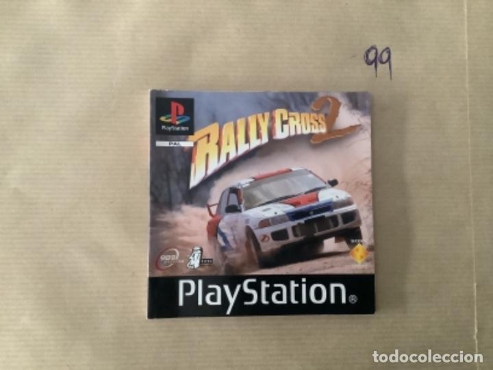 H1 MANUAL PSX PLAY RALLY CROSS 2 (Juguetes - Videojuegos y Consolas - Sony - PS1)