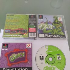 Videojuegos y Consolas: THE GRINCH SONY PS1 PLAYSTATION PSONE PSX PAL-EUROPA COMPLETO. Lote 270089468
