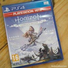 Videojuegos y Consolas: HORIZON. ZERO DAWN. COMPLETE EDITION - PS4 - VIDEOJUEGO SEGUNDA MANO. Lote 270100748