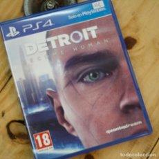 Videojuegos y Consolas: DETROIT: BECOME HUMAN - PS4 - VIDEOJUEGO SEGUNDA MANO. Lote 270100853