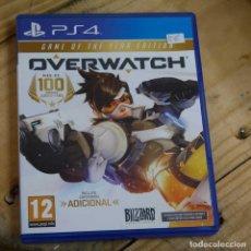 Videojuegos y Consolas: OVERWATCH - PS4 - VIDEOJUEGO SEGUNDA MANO. Lote 270100933