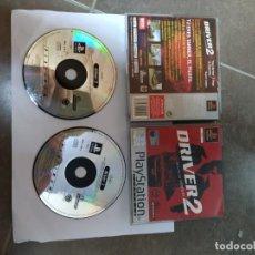 Videojuegos y Consolas: DRIVER 2 PS1 PLAYSTATION 1 PAL-ESPAÑA. Lote 270242903