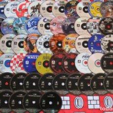 Videojuegos y Consolas: LIQUIDACION LOTE 55 DISCOS PLAY STATION PS1 PSX PSONE LEER DESCRIPCION. Lote 270245663